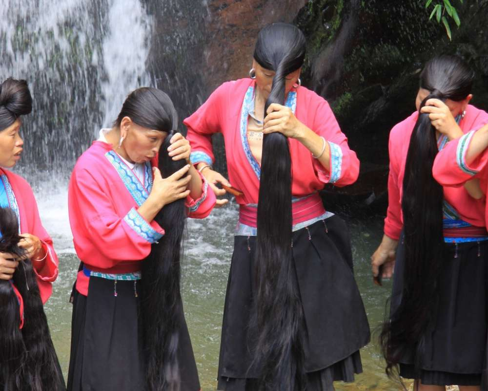 Рисовая вода – секрет длинных и густых волос девушек Азии