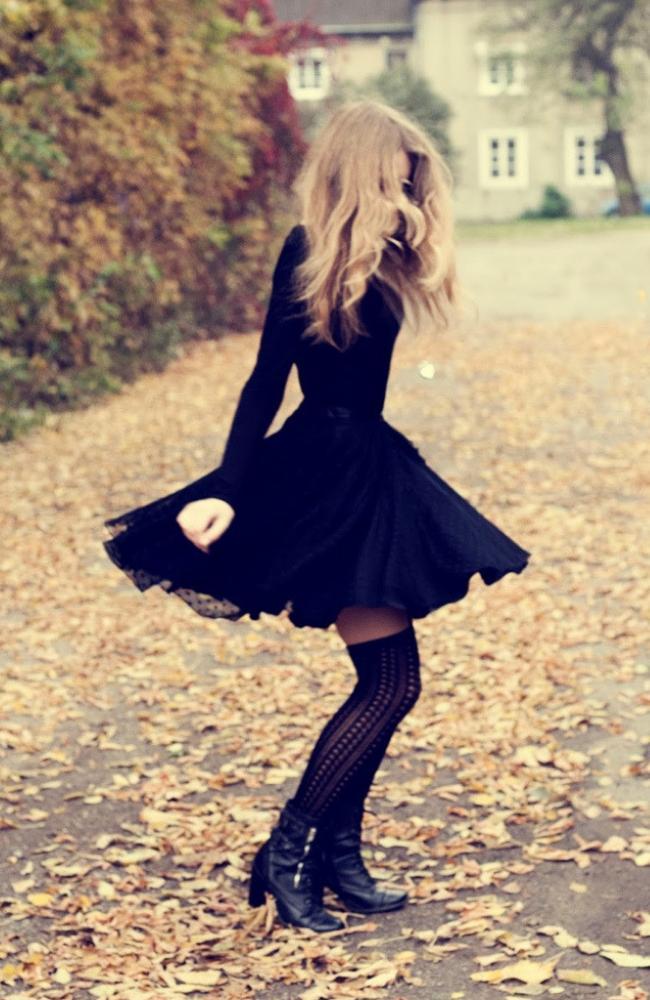 Маленькое черное платье 2019